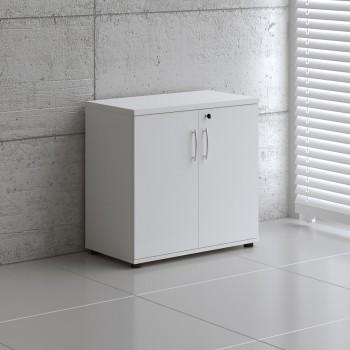 Basic K2104 2-Door Storage, White