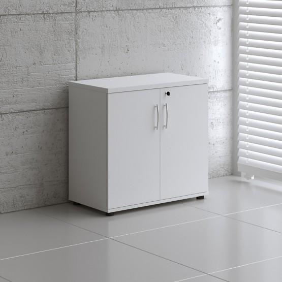 Basic K2104 2-Door Storage, White photo
