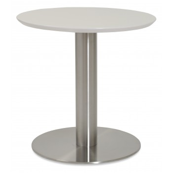 Tango End Table, White Lacquer by SohoConcept Furniture