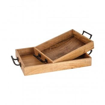 Woodridge Tray, Set of 2