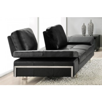 Gia Loveseat, Black