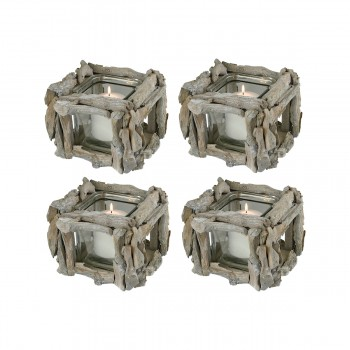 Edgewood Square Votive, Set of 4