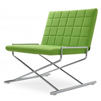 Chelsea X Chair, Pistachio Camira Wool by SohoConcept Furniture