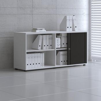 Tambour Pro Storage Unit IA2L08, White + Black Front