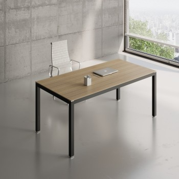 Impuls Desk IM05, Black + Canadian Oak