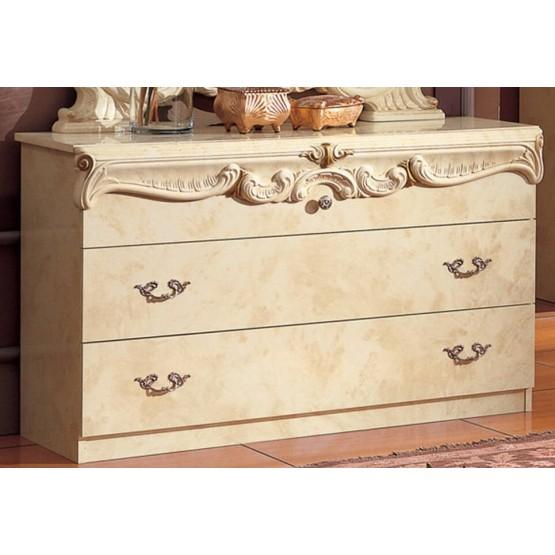 Barocco Single Dresser, Ivory photo