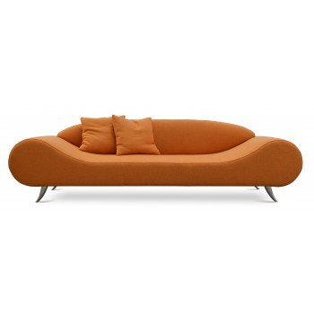 Harmony Sofa, Orange Tweed by SohoConcept Furniture