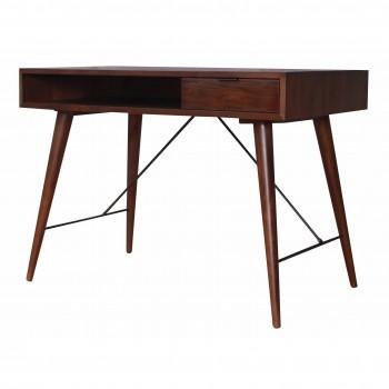 Franco Desk, Dark Walnut by NPD (New Pacific Direct)