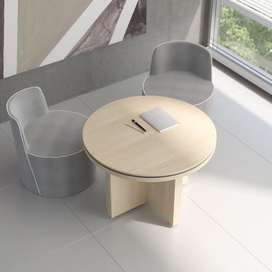 Status Small Table X19, Canadian Oak photo