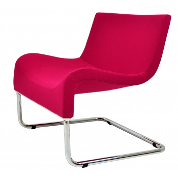 Marmaris Chair, Pink Wool by SohoConcept Furniture