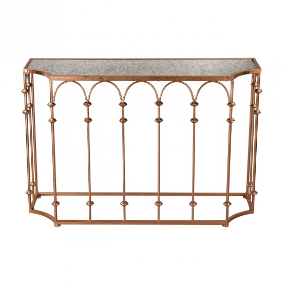 Copper Arch Console photo