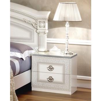 Aida Nightstand, White