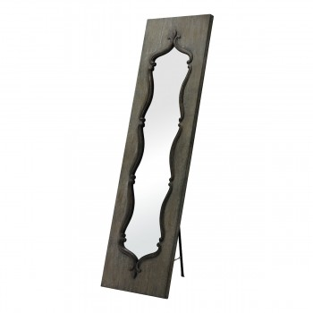 Acorn Park Wood Framed Floor Mirror