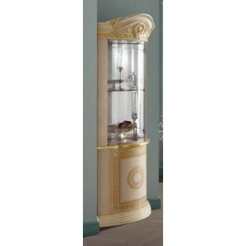 Aida Corner Curio Cabinet