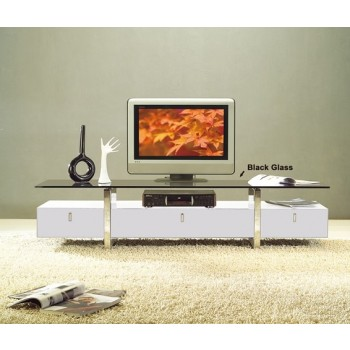 WRS TVR7424 TV Stand, White