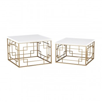 Sugar City Set of 2 Accent Tables