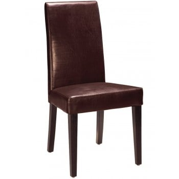 DG020-BR Dining Chair, Brown