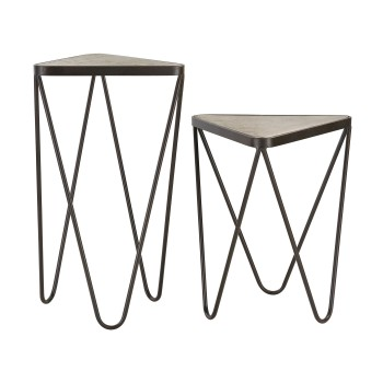 Angular Side Tables - Set of 2