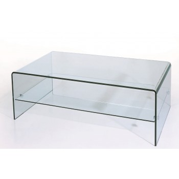 C26 Glass Coffee Table
