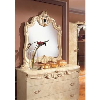Barocco Mirror, Ivory