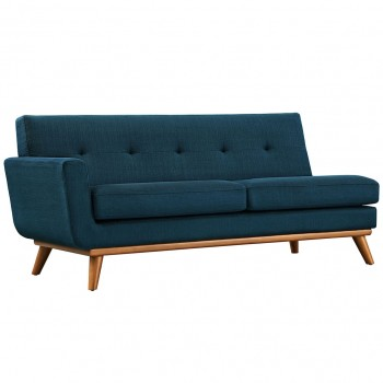 Engage Left-Arm Loveseat, Azure by Modway