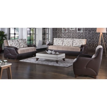 Costa 3-Piece Living Room Set, Armoni Vizon