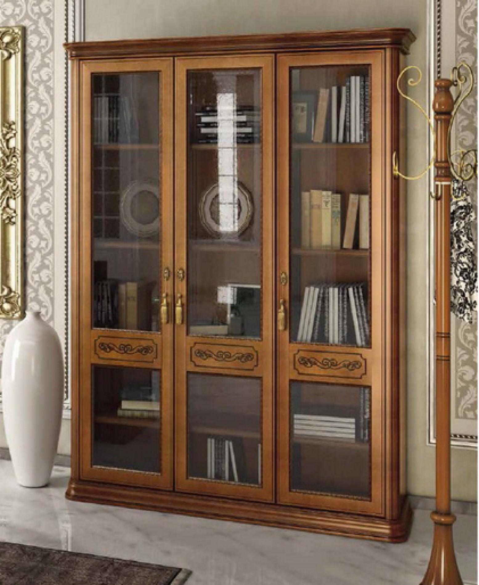 Gl Doors Wooden Shelves Walnut