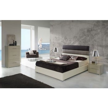 690 Desiree 3-Piece Euro King Size Storage Bedroom Set