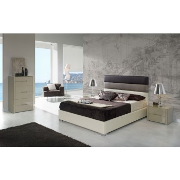 690 Desiree 3-Piece Euro Queen Size Storage Bedroom Set