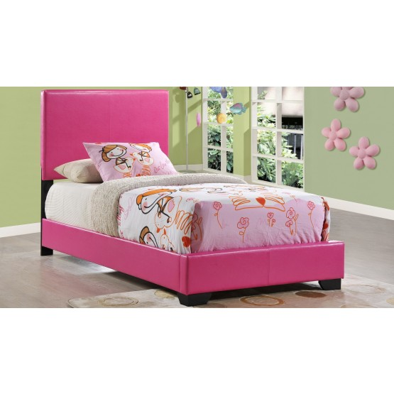 8103 Twin Size Bed, Pink photo