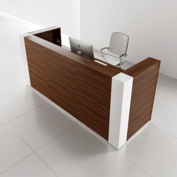 Tera TRA122 Reception Desk, Lowland Nut