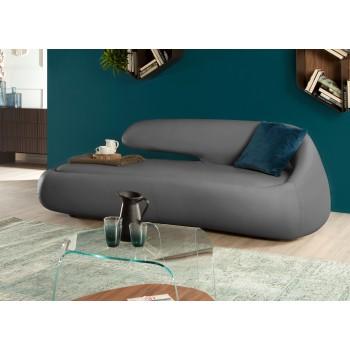 Duny Sofa, Ash Grey Eco-Leather