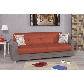 Avalon Sofa, Prusa Orange by Casamode