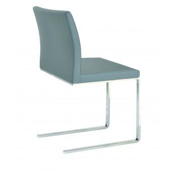 Aria Flat Dininng Chair, Grey PPM by SohoConcept Furniture