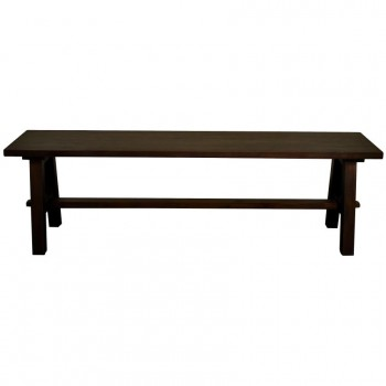 "Bedford 59"" Bench ""A"" Base, Cocoa Glaze by NPD (New Pacific Direct)"