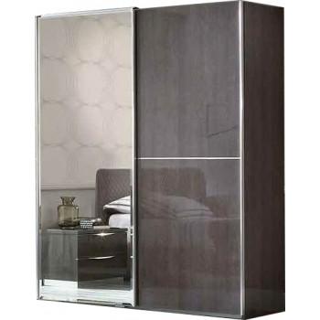 Platinum 2 Sliding Door Wardrobe w/Mirror