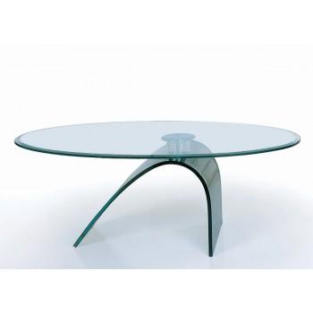 C21 Glass Coffee Table