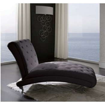 Nelly B6 Chaise Lounge, Black