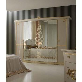 Gocce Di Luce 6-Door Wardrobe