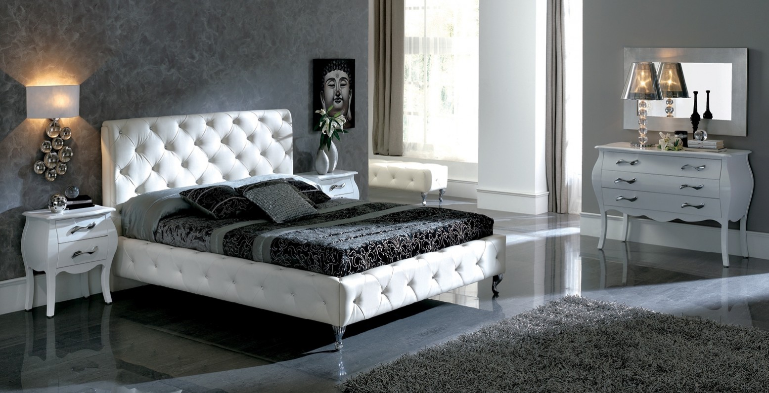 Nelly Queen Size Bedroom Set White Buy Online At Best Price