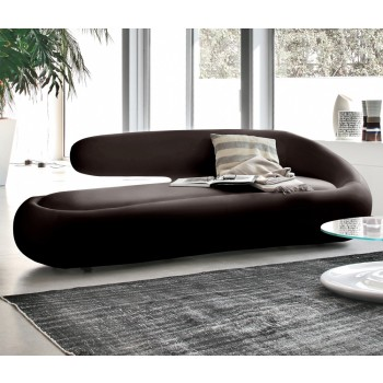 Duny Sofa, Dark Brown Leather