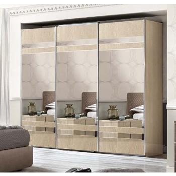 Ambra 3 Mirrored Sliding Doors Wardrobe