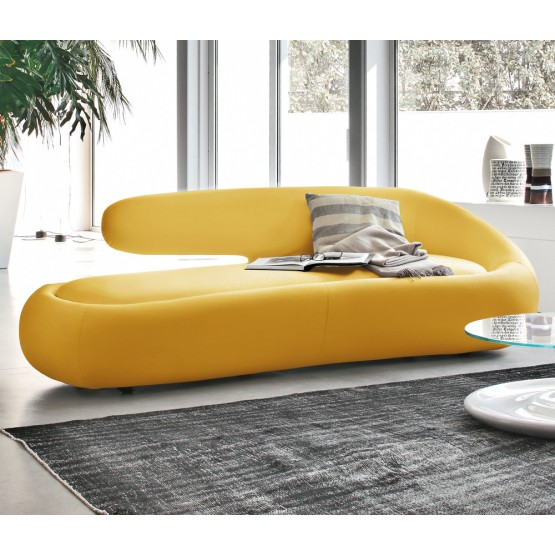 Duny Sofa, Yellow Leather photo