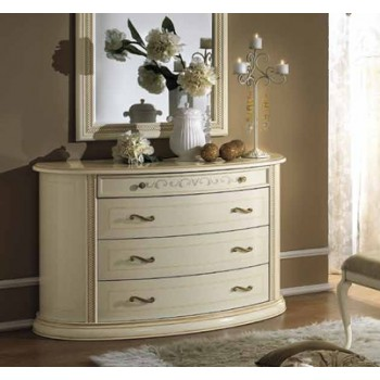 Siena Single Dresser, Ivory