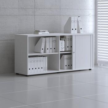 Tambour Pro Storage Unit IA2L08, White