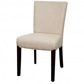Beverly Hills Fabric Chair, Sand, Set of 2 by NPD (New Pacific Direct)