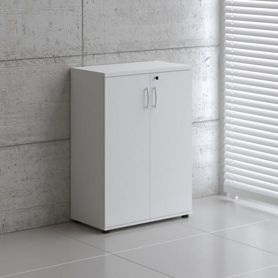 Basic K3104 2-Door Storage, White photo