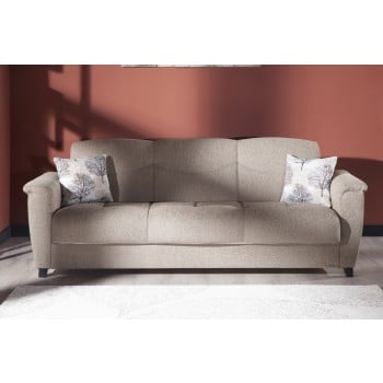 Aspen Sofabed, Forest Brown by Sunset International Trade