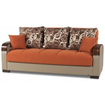Mobimax Sofa, Orange by Casamode