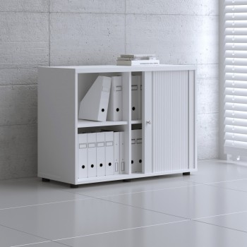 Tambour Pro Storage Unit IA2L05, White